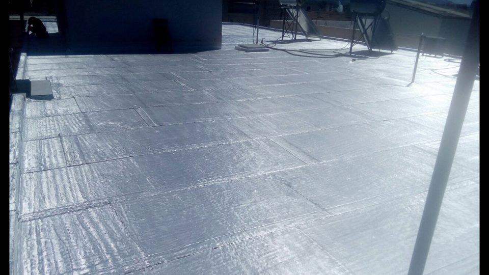 Sellado de techos con NOVALUM